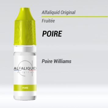 e-liquide fruité poire Alfaliquide