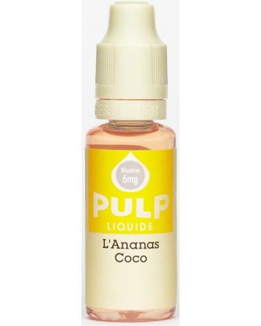 Eliquide L'ananas Coco de chez Pulp