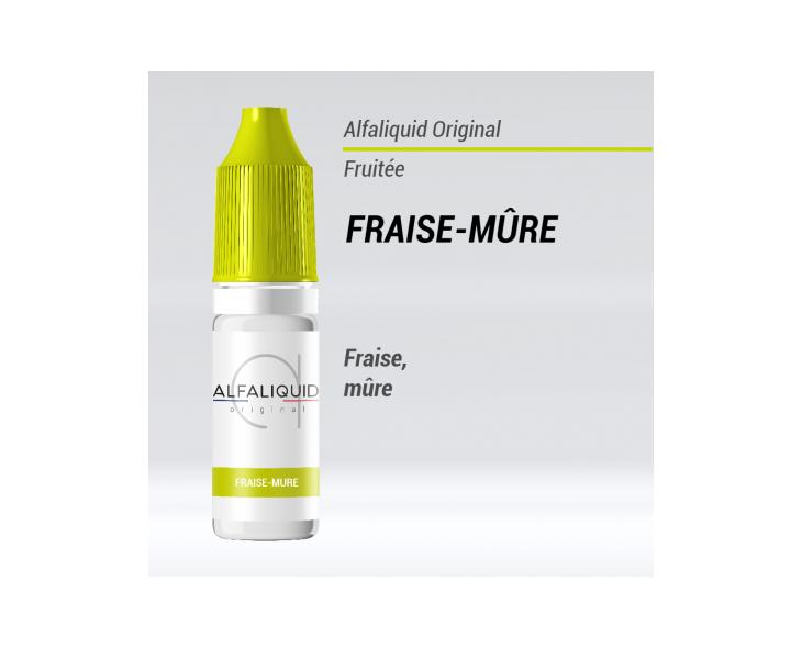 e-liquide fruité Fraise mûre Alfaliquid