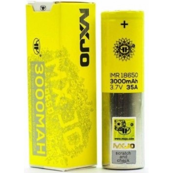 Accus IMR 18650 3000 MahMxjo