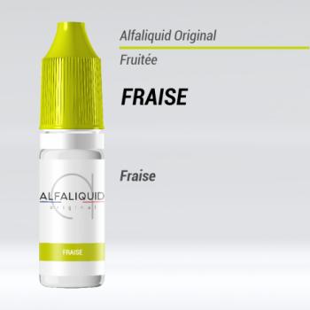 e-liquide fruité fraise Alfaliquid