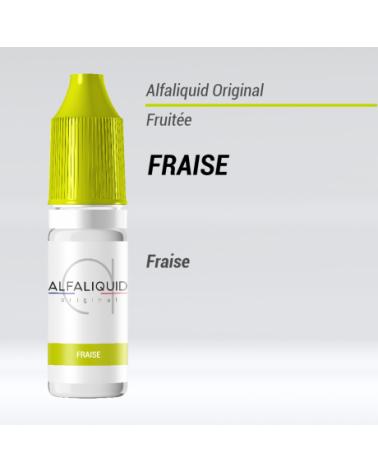 E-liquide Fraise Alfaliquid | Création Vap