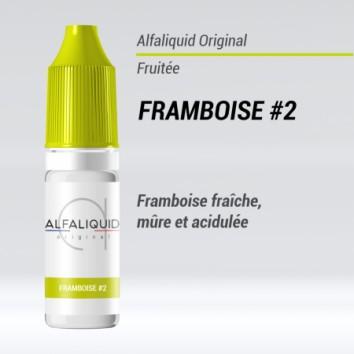e-liquide fruité framboise mure Alfaliquid