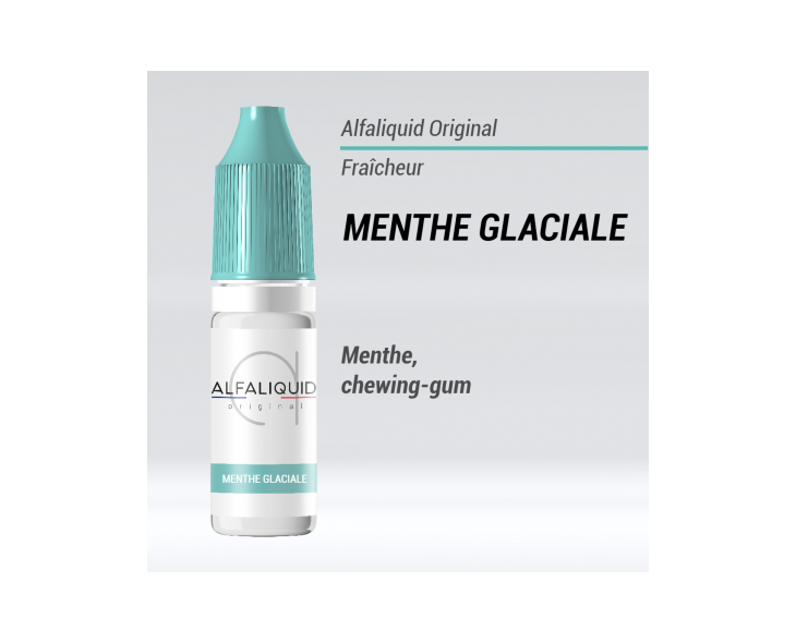 e-liquide fraicheur menthe glaciale Alfaliquid