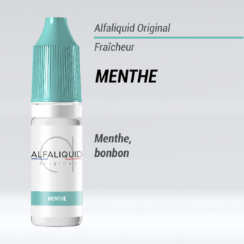 E-liquide Menthe Alfaliquid | Création Vap