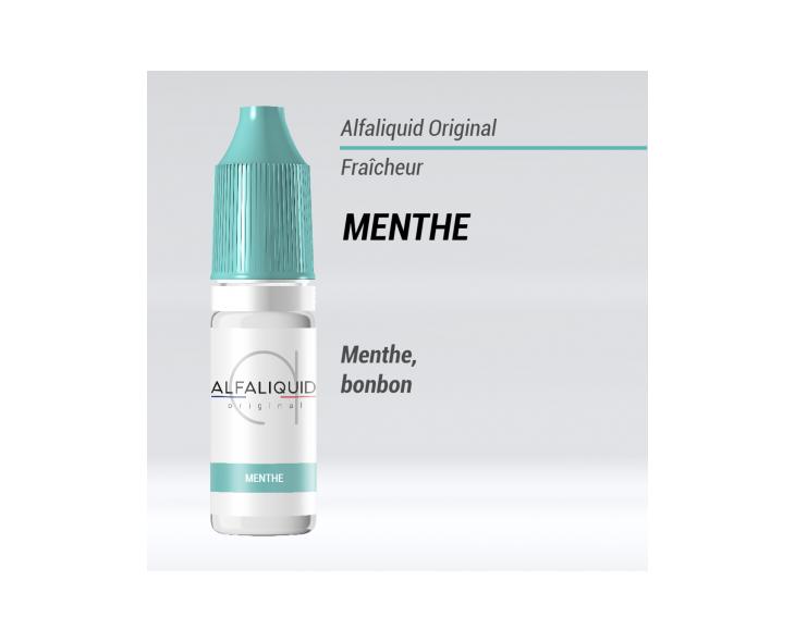 E-liquide Menthe Alfaliquid   Création Vap