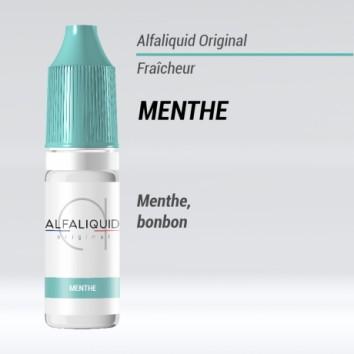 e liquide fraicheur menthe Alfaliquid