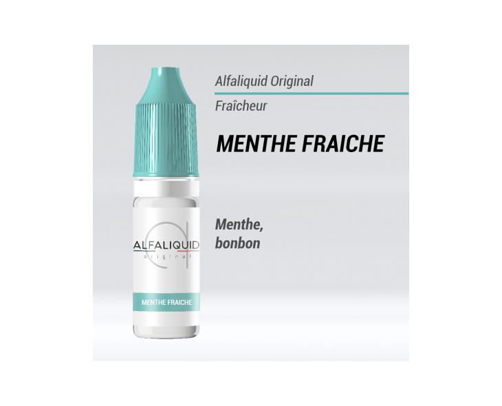 E-liquide Menthe fraiche Alfaliquid | Création Vap