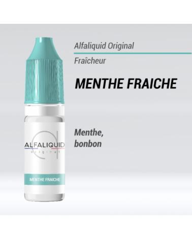 e liquide fraicheur menthe fraiche Alfaliquid