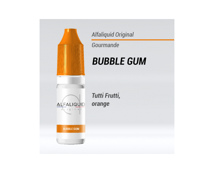e-liquide gourmand Bubble Gum Alfaliquid