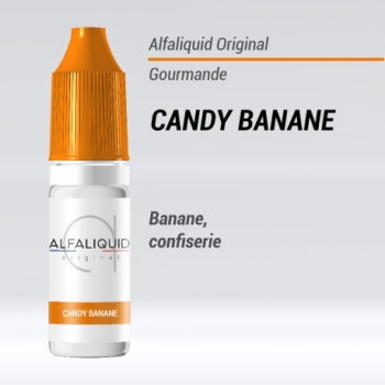 E-liquide Candy banane Alfaliquid | Création Vap