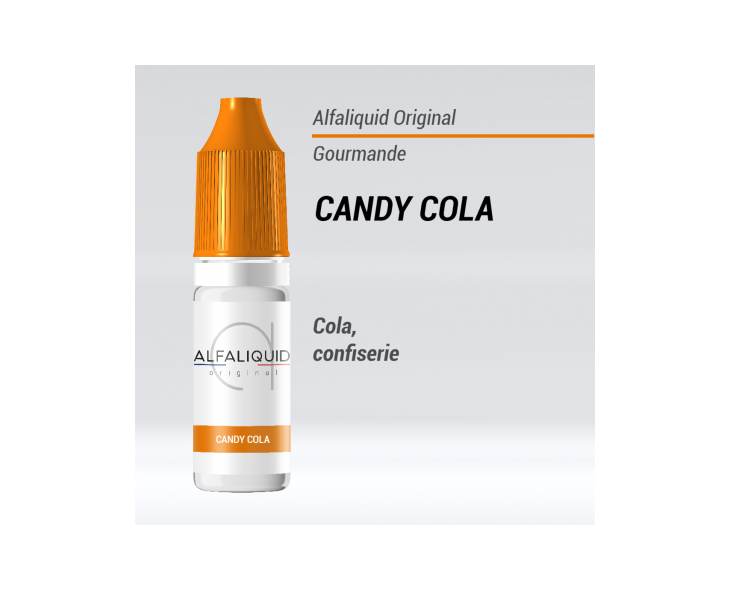 e-liquide gourmand candy cola Alfaliquid