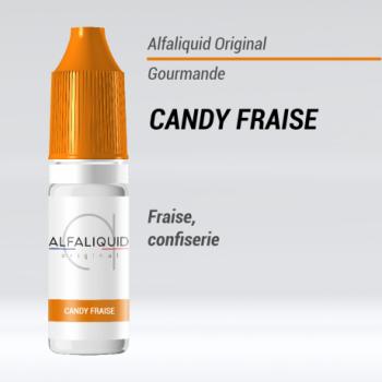 E-liquide Candy fraise Alfaliquid | Création Vap