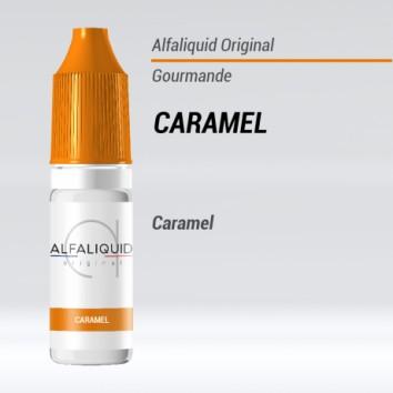 e-liquide gourmand caramel alfaliquid