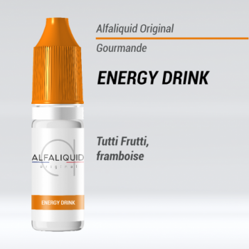 e-liquide gourmand energy drink Alfaliquid