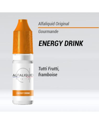 E-liquide Energy drink Alfaliquid | Création Vap