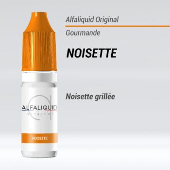 e liquide noisette gourmande Alfaliquid