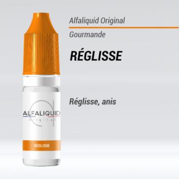 E-liquide Réglisse Alfaliquid | Création Vap