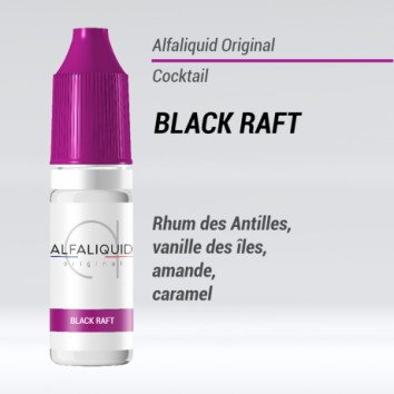 e liquide cockail black raft Alfaliquid