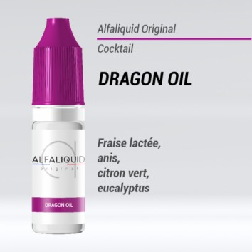 e-liquide cocktail Dragon Oil Alfaliquid