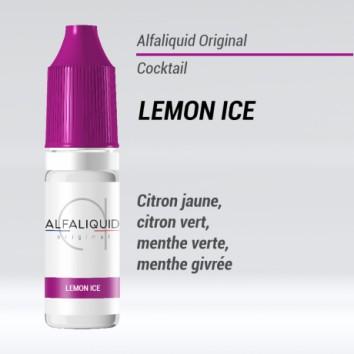 e-liquide cocktail lemon ice Alfaliquide