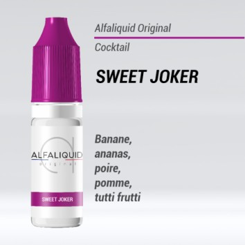 e-liquide cocktail sweet joker Alfaliquid