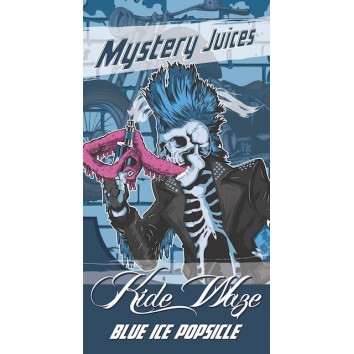 Kide Waze blue ice popsicle mystery juice